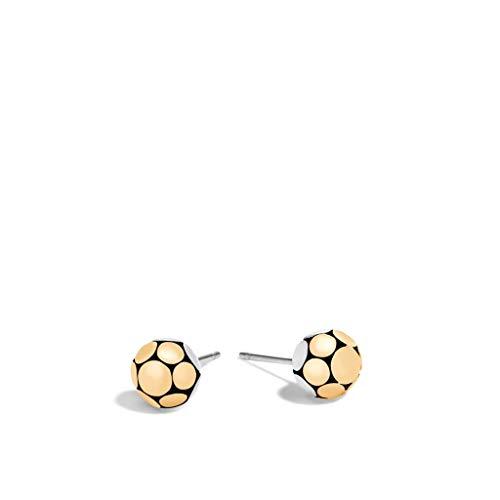 - John Hardy Women's Dot Gold & Silver Small Stud Earring - EZ3975