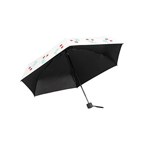 Teng Peng- Compact Travel Umbrella- Parasol Portable Folding Umbrella Sun Shade Anti-uv Fast Drying Windproof Travel Umbrella-Windproof Double Canopy Construction-Teflon Coating Household Umbrella by Teng Peng (Image #6)