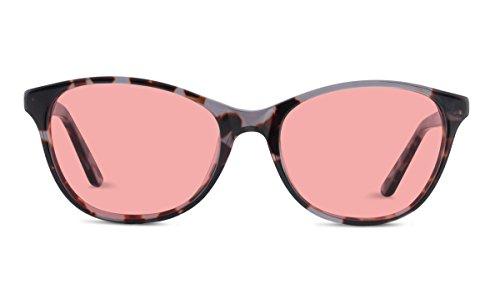 Audrey TheraSpecs Fluorescent Light and Migraine Glasses: Indoor Tint for Women (Indoor, Brown) by TheraSpecs