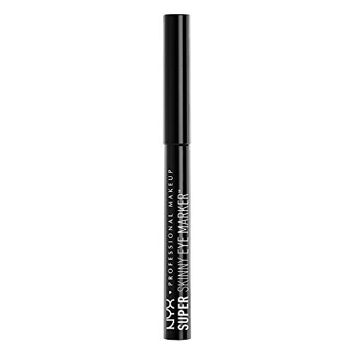 NYX Professional Makeup Super Skinny Eye Marker, Carbon Black,1.1ml