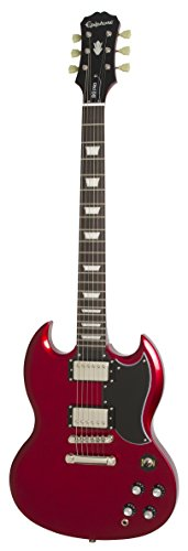 - Epiphone 6 String 1961 G-400 Pro in Candy Apply Red, Apple, Jumbo EGGPCRNH3