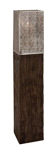 Deco 79 23869 Wood Metal Floor Hurricane, 8