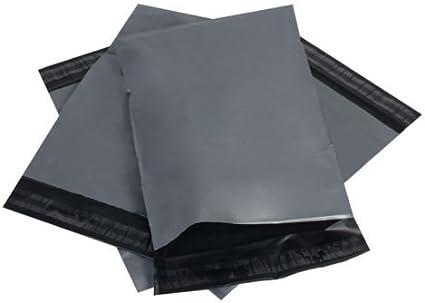 """17/"""" x 24/"""" solide poly envoi affranchissement postal qualité self seal gris 20 sacs"""