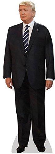 Donald Trump (Suit) Life Size Cutout by Celebrity Cutouts by Celebrity Cutouts