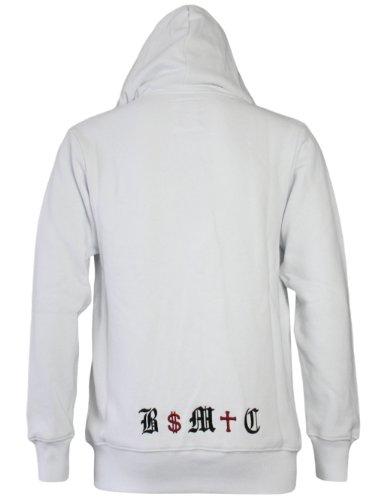 BLACK MONEY CREW Herren Designer Hoodie Jacke - BMC -