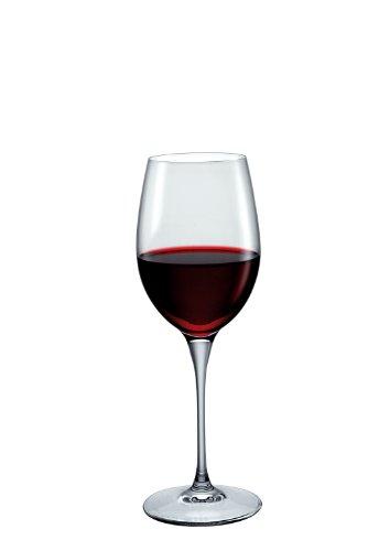 Bormioli Rocco Premium Merlot Glasses, Clear, Set of 6
