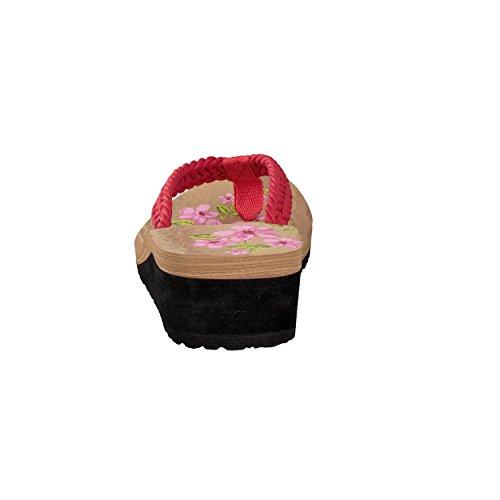 brandsseller - Sandalias de Material Sintético para mujer Rojo - rojo