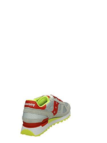 Saucony Shadow Original Sneakers Basse Uomo Grigio Rosso