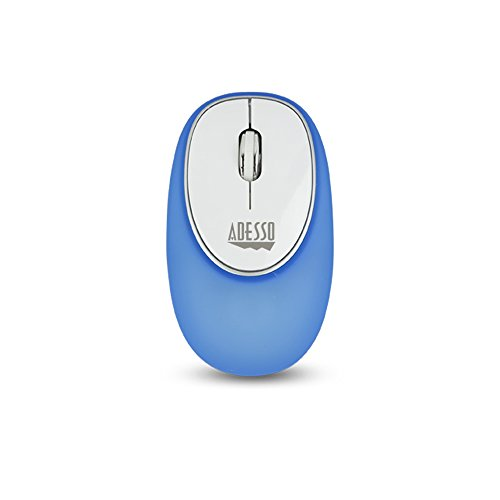 Mouse Adesso 3 Button (Adesso 2.4GHz 3 BTN Gel Mouse, Blue (iMouse E60L))