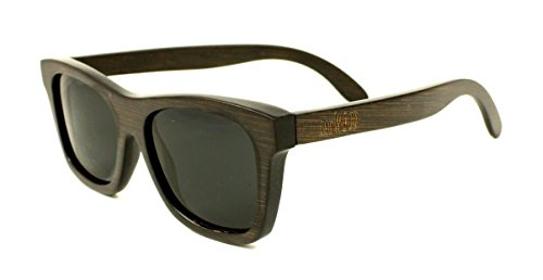 RawWood Originals Brown/Smoke Polarized Bamboo Wood - Company The By Same Sunglasses Made Are