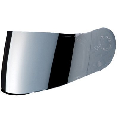 HJC AC-12/CL-SP/CL-15/CL-16/FS-10/IS-16/CS-R1/CS-R2 Motorcycle Helmet Replacement Faceshield Mirror-Coated Silver by HJC Helmets