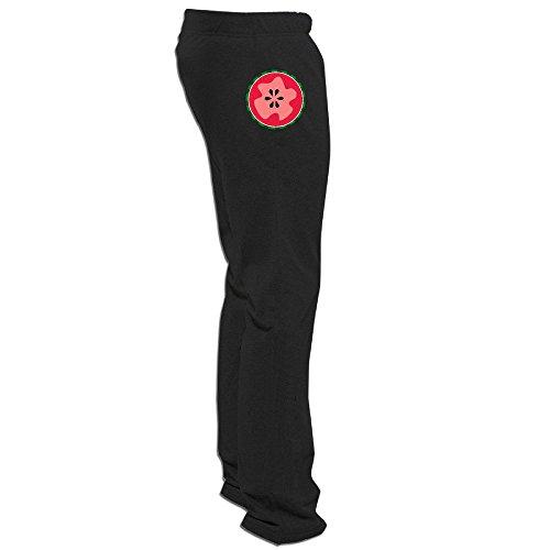Price comparison product image Yesher Men's Watermelon Long Workout Pants - Black XXL