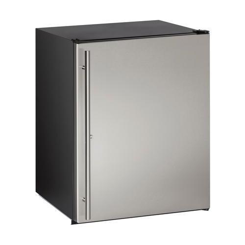 U-Line U-ADA24RS-13B 24″ ADA Solid Door Refrigerator, Stainless, Locking Door