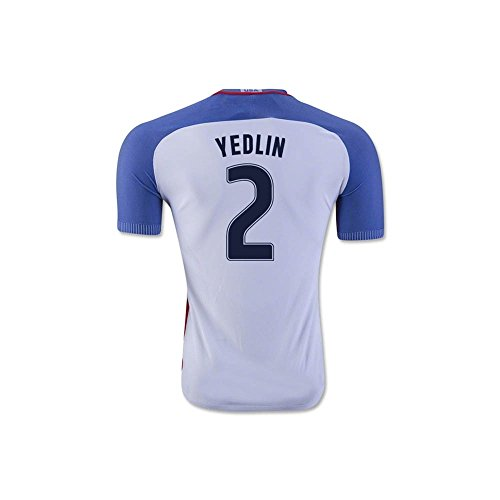 不運深く連続的2016-17 USA Home Shirt (Yedlin 2)
