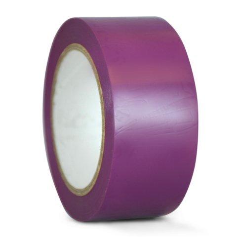 tru-cvt-536-purple-vinyl-pinstriping-dance-floor-tape-3-in-wide-x-36-yds-several-colors