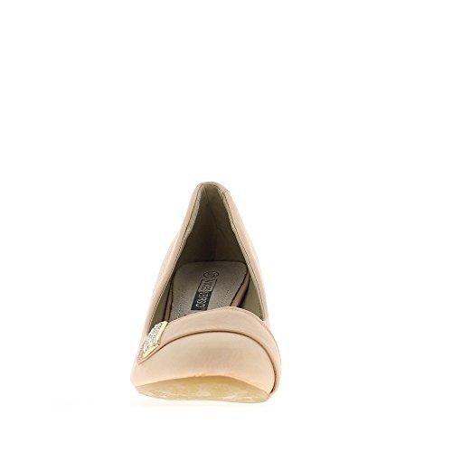Versetzte Frau Taupe mit klein 6,5 cm Runde endet mit Strass heels