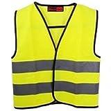 2xHigh Visibility Childrens Safety Vest Waistcoat Jacket Small Size
