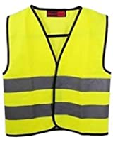 2xHigh Visibility Childrens Safety Vest Waistcoat Jacket Small Size