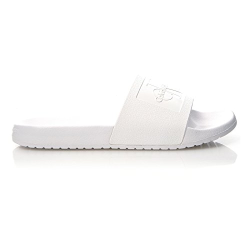 Calvin Klein Jeans Men's Vincenzo Jelly Open Toe Sandals White Qr6I0o