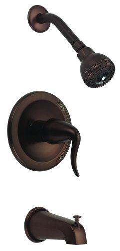 Danze D510021RB Antioch Single-Handle Tub and Shower Faucet, Oil Rubbed Bronze