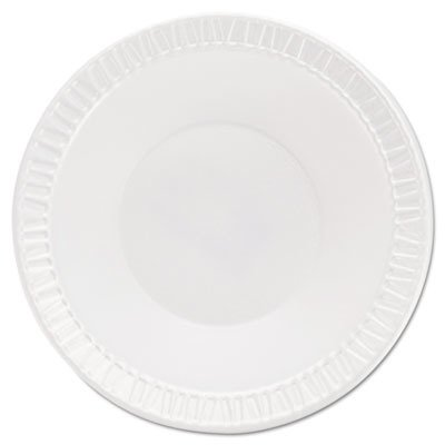 - Dart 5BWWQ 5-6 oz White Quiet Classic Laminated Foam Dinnerware Bowl (8 Packs of 125)