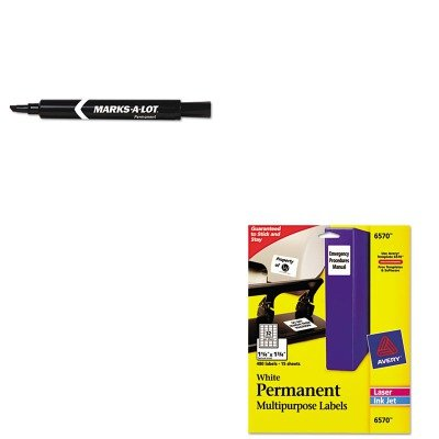KITAVE08888AVE6570 - Value Kit - Avery Permanent ID Labels
