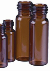 2346668 Vial Glass Screw Cap 4mL Amber 100 Per Pack sold as Pack Pt# 66030-734 by National Scientific by National Scientific