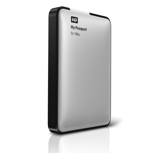 WD My Passport for Mac 500 GB USB 2.0 External Hard Drive - WDBL1D5000ABK-NESN