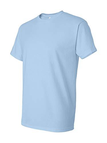 Gildan mens DryBlend 5.6 oz. 50/50 T-Shirt(G800)-LIGHT BLUE-XL