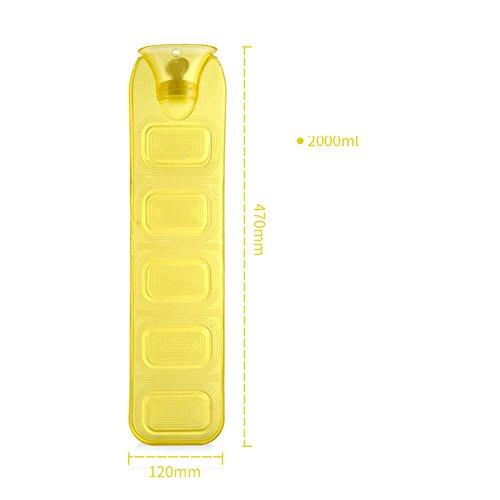 1.6l A/c (Hot water bottle Long Hot water bottle Children Hot water bottle Hot water bag warm palace1.6l-blue-C)