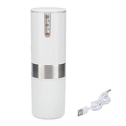 Cafetera eléctrica, Máquina automática de cápsulas de café de acero inoxidable, Máquina de café con carga USB Ideal para…