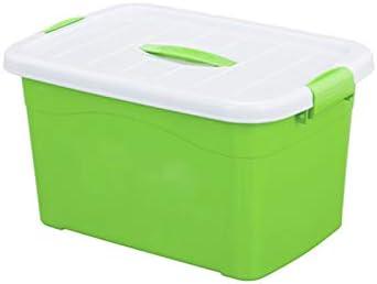 Yuanyuanliu Caja De Almacenamiento Grande De La Caja De Almacenamiento De La Ropa del Patinaje sobre Ruedas Plástico De La Caja De Almacenamiento del Hogar (Color : Green): Amazon.es: Hogar