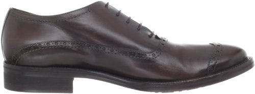 CoSTUME NATIONAL Mens Cap Toe Oxford Black IQ5wCR