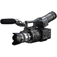 Sony Sony NEXFS700UK 4K Sensor High Speed FS Series Camcorder with 18-200mm Lens, 1920x1080/60p Video, 3.5 Screen, Up to 960 fps Super Slow Motion
