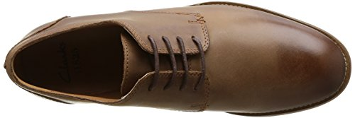 Clarks Exton Walk, Scarpe stringate Uomo Marrone (Tobacco Leather)