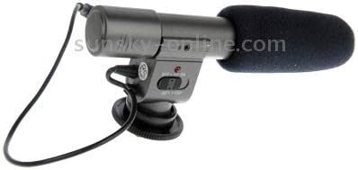DUDETAO Mini Professional Stereo Microphone for DV Camcorder