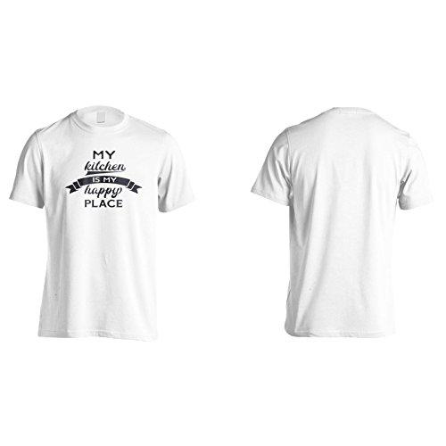 Meine Küche Ist Mein Glücklicher Platz Herren T-Shirt n471m