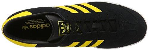 adidas Hamburg, Scarpe da Ginnastica Basse Unisex – Adulto Nero (Core Black)