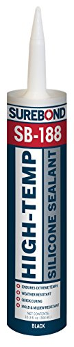 High-Temp Silicone Sealant, 10.3 fl. oz. Cartridge