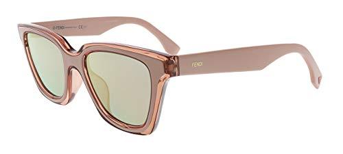 Sunglasses Fendi Ff 195/S 0JQ2 Pink / 0J gray rose gold lens (Glasses Sale Fendi)