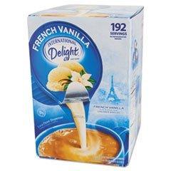 WhiteWave 100708 Liquid Coffee Creamer Int Delight .5oz 192/CT French Vanilla