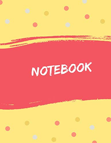 - Notebook: Unlined/Plain Notebook - Large (8.5 x 11 inches) - 100 Pages