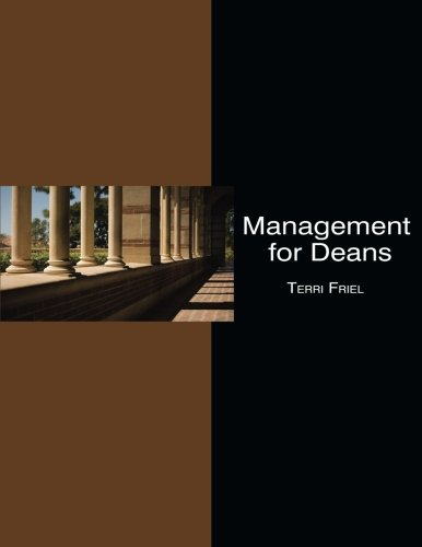 Management for Deans: What to Know for Your Administrative Promotion