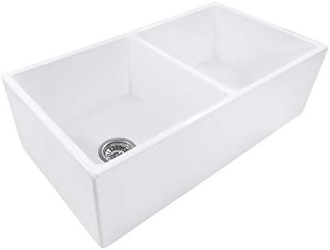 Luxier CS-023 Bathroom Porcelain Ceramic Vessel Vanity Sink Art Basin