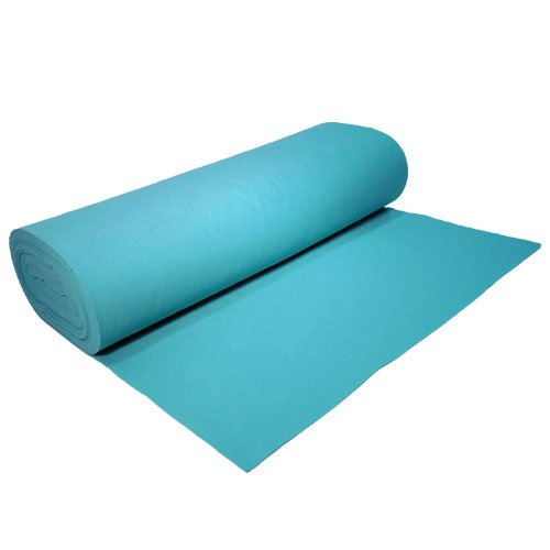 Acrylic Felt by the Yard 72'' Wide X 2 YD Long: Turquoise by The Felt Store