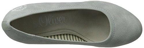 s.Oliver 22405, Zapatos de Tacón para Mujer Azul (SKY 834)