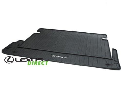 2010-2014 Lexus GX460 2-Peice Rear Cargo Mat (Black)
