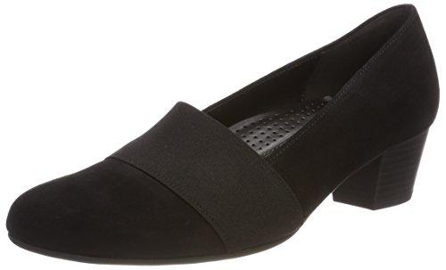 Gabor Damen Comfort Fashion Pumps Schwarz (Schwarz)
