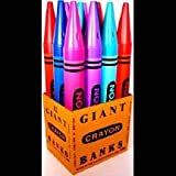 Amazon Com Giant Crayola Crayon Candy Apple Red