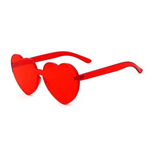 Hembra Corazón Amarillos Transparente De Limotai Tono Amor Gafas De 08 Sol De Roja 07 Rosa Lente Gafas Tonos Cerco Forma con Solgafas De Coloridos Sin 7p8Bx7q